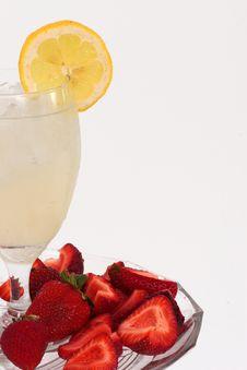 Free Lemonade And Strawberries Stock Photos - 2796773