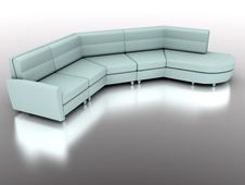 Free Modern Sofa Royalty Free Stock Photography - 2797637