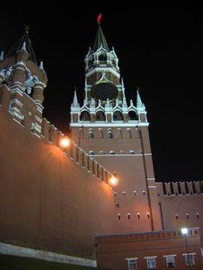 Free Kremlin Tower Royalty Free Stock Photography - 2799007