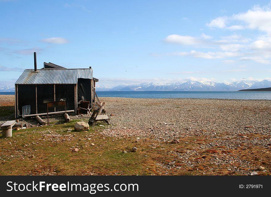 Old Arctic Shack