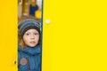 Free Kid Peeping Through Royalty Free Stock Images - 27902139