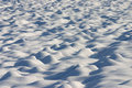 Free Dunes Of Snow In A Country Field Royalty Free Stock Image - 27902886