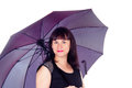 Free A Beautiful Girl With Umbrella Royalty Free Stock Image - 27903016
