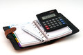 Free Diary Pen And Calculator Royalty Free Stock Images - 27904159
