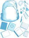 Free School Bag And School Supplies Stock Photo - 27907350