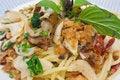 Free Asian Style Crisp Fish Spaghetti Stock Images - 27908284