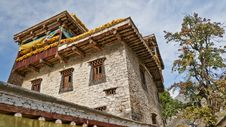 Free A Tibetan Folk House Stock Photography - 27900722