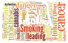 Free Word Cloud Of Smoking Symbol Stock Photos - 27902293