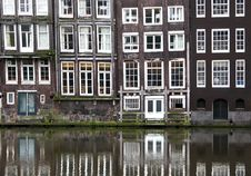 Free Windows From A Builsing In Amsterdam Stock Photo - 27903250