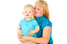 Free Happy Portrait Of The Mother And Child Stock Images - 27903914