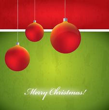 Free Christmas Vector Background Royalty Free Stock Photography - 27903927