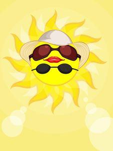 Sun Summer Holiday Woman Stock Photo