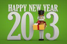Free New Year 2013 Present Stock Image - 27909081