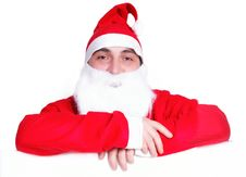 Free Portrait Of Santa Claus Isolated Royalty Free Stock Image - 27909116