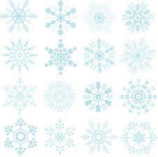 Free Snowflakes Royalty Free Stock Photo - 27911955