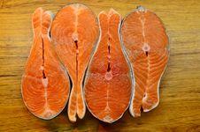 Free Fish Stakes On Wood Stock Photos - 27912433