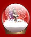 Free Christmas Snow Globe With Fairy Stock Photos - 27920433