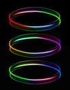 Free Three Rings Of Light Royalty Free Stock Image - 27929186
