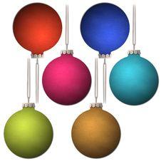 Free Christmas Balls Stock Photo - 27924390
