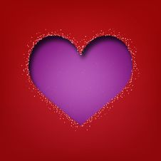 Abstract Valentine S Day Heart Stock Photography
