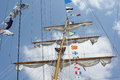 Free Masts And Nautical Flags Stock Photos - 27930683