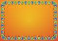 Free Trees On Orange Background Royalty Free Stock Photography - 27932917