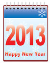 Free New Year 2013 Calendar Royalty Free Stock Images - 27938889