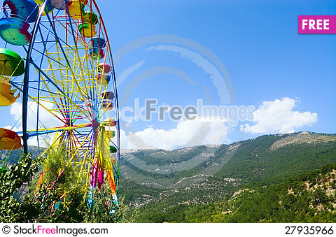 Free Ferris Wheel Royalty Free Stock Image - 27935966