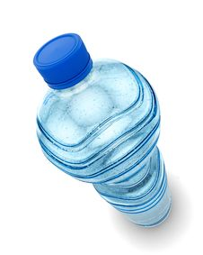 Free Bottle Of Water Isolated Royalty Free Stock Photos - 27932478