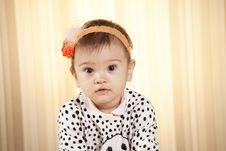 Free Baby Girl Portrait Stock Photo - 27933070