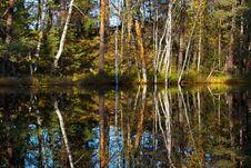 Free Lake Reflection Royalty Free Stock Photo - 27933335