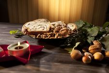 Free Objects And Food For Christmas Celebration Royalty Free Stock Photography - 27933727
