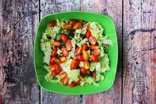 Free Salad With Tomatoes Stock Image - 27934451