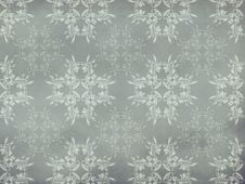 Vitage Flourish Pattern Gray Background