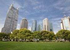 Free The Shanghai Lujiazui Building Group Royalty Free Stock Image - 27938316