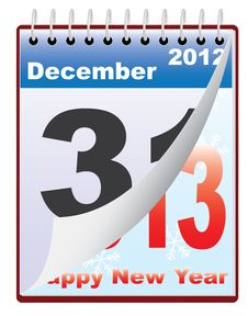Free New Year 2013 Stock Photography - 27938872
