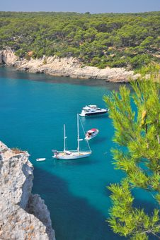 Free Cala Galdana, Menorca Stock Photography - 27939842