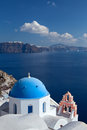 Free Church Of The Island Of Santorini Royalty Free Stock Images - 27941489
