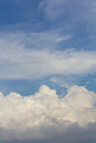 Free Background Of Cloudy Sky. Royalty Free Stock Photography - 27944677