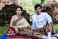 Free Asian Thai Couple Bride And Bridegroom Stock Photo - 27946090