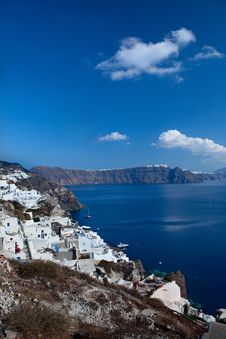 Free Santorini Caldera View Stock Image - 27941481