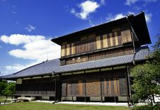 Ancient Japanese Architecture Stock Photography