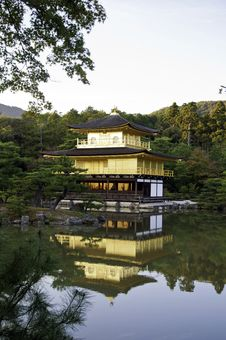 Free Kinkakuji, Golden Pavilion At Kyoto, Japan. Royalty Free Stock Photo - 27944385
