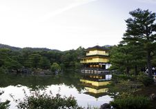 Free Kinkakuji Temple, Aka The Golden Pavilion Stock Images - 27944414