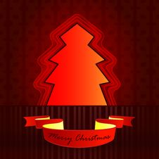 Free Classic Shape Designed Red Brown Tree Stock Photo - 27944500