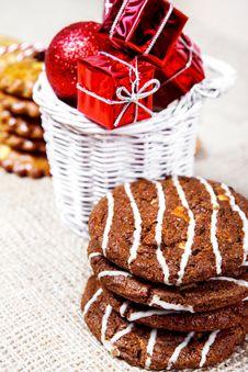 Free Christmas Cookies Stock Photo - 27944630