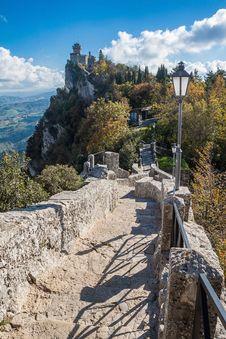 Free San Marino Castle Royalty Free Stock Image - 27946476