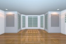 Free Empty White Living Room Stock Photo - 27946850
