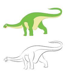 Diplodocus Stock Images
