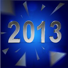 Free Christmas And 2013 New Year Background Royalty Free Stock Photography - 27948397